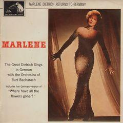 Marlene Dietrich Returns To Germany