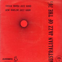 Thumbnail - YARRA YARRA JAZZ BAND/NEW HARLEM JAZZ BAND