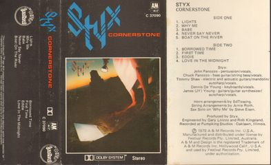 Styx Cornerstone A Records Lps Vinyl And Cds Musicstack