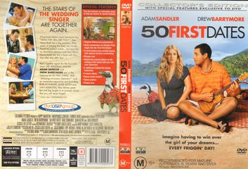 ... Soundtrack 50 First Dates CD Cover, Original Soundtrack 50 First Dates