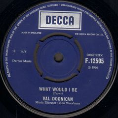 Val Doonican - What Would I Be/gentle Mary