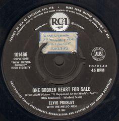 One Broken Heart For Sale