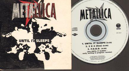 Metallica - Until It Sleeps/2 X 4/f.o.b.d.