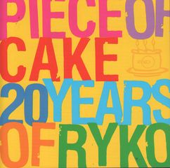 Mojo Magazine CD - Mojo 120 - Piece Of Cake: 20 Years Of Ryko