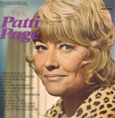Patti Page - This Is...patti Page