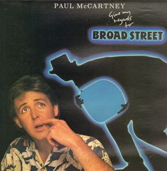 Paul McCartney - Give My Regards To Broad Street Single