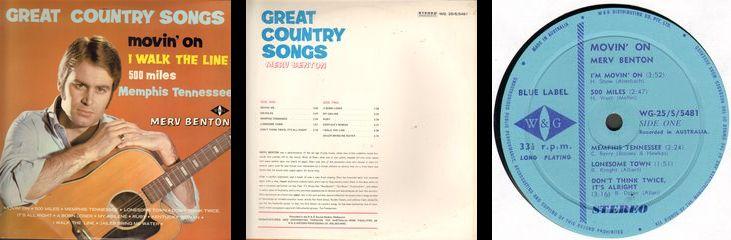 Merv Benton Sounds Great