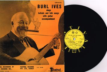 Burl Ives - Ballads And Folk Songs