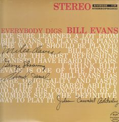 Bill Evans Trio Everybody Digs Bill Evans Records Lps