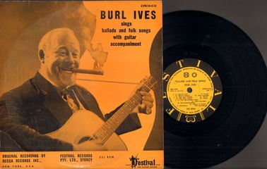 Ballads And Folk Songs - Burl Ives