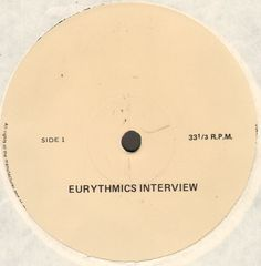 Eurythmics - Eurythmics Interview