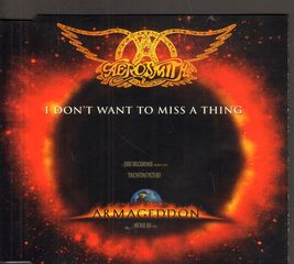 Aerosmith - I Don't Want To Miss A Thing/(rock Mix/taste Of India (rock Remix)/animal Crackers)