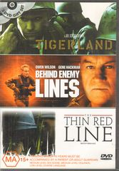 Thumbnail - TIGERLAND/BEHIND ENEMY LINES/THE THIN RED LINE