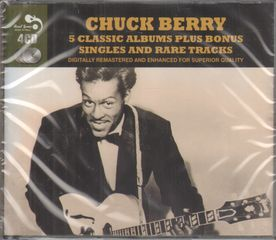 Chuck Berry - 5 Classic Albums Plus Bonus Singles And Rare Tracks