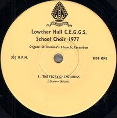 Thumbnail - LOWTHER HALL C.E.G.G.S. SCHOOL CHOIR 1977