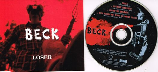 Beck - Loser/totally Confused/corvette Bummer/mtv Makes Me Want To Smoke Crack
