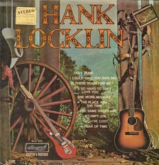 Hank Locklin - Hank Locklin LP