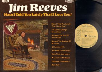 Jim Reeves - Have I Told You Lately That I Love You? Single