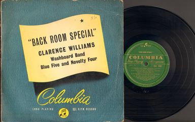 Thumbnail - WILLIAMS,Clarence,Washboard Band,Blue Five & Novelty Four