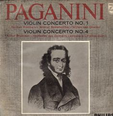 Paganini Violin Concerto 1 Records Lps Vinyl And Cds