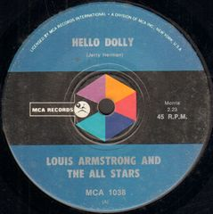 Louis Armstrong & The All Stars - Hello Dolly!/a Lot Of Livin' To Do