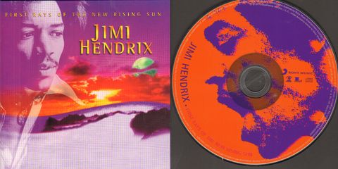 Jimi Hendrix - First Rays Of The New Rising Sun Record