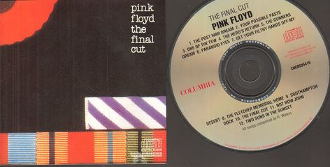 Pink Floyd - The Final Cut Album