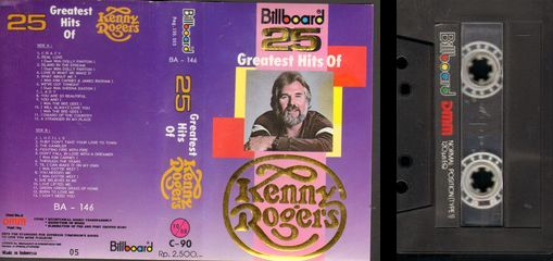 25 Greatest Hits Of Kenny Rogers