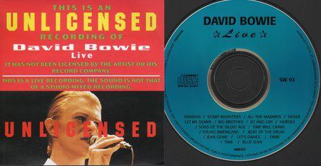 David Bowie - David Bowie Live Vol. 1