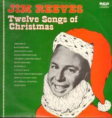 Jim Reeves Twelve Songs Of Christmas Records, LPs, Vinyl and CDs ...
