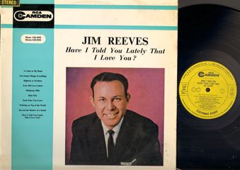 Jim Reeves - Have I Told You Lately That I Love You? CD