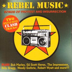Mojo Magazine CD - Mojo 180 - Rebel Music:songs Of Protest And Insurrection