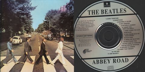 Beatles - Abbey Road Record