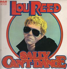 Lou Reed - Sally Can't Dance Record
