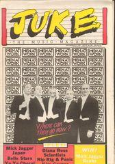 Juke Magazine - Juke 396 - Men At Work, Mick Jagger, Japan, Diana Ross, Scientists