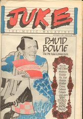 Juke Magazine - Juke 436 - David Bowie, Cold Chisel, Madness, Swanee, The Fall, Cabaret Voltaire, Krokus