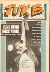 Juke Magazine - Juke 430 - Doc Neeson, Loverboy, Bad Company, Hoodoo Gurus, Orphans