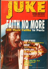 Juke Magazine - Juke 929 - Faith No More, Guns N' Roses, Ratcat, Rapper Sole, Eddie Murphy
