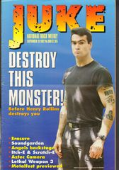 Juke Magazine - Juke 908 - Henry Rollins, Erasure, Soundgarden, Angels, Axtec Camera