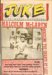 Juke Magazine - Juke 433 - Malcolm Mclaren, New Order, Rose Tattoo, Andy Summers, Ultravox, Jennifer Beals, John Fox