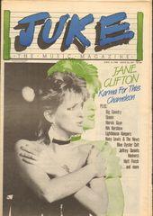 Juke Magazine - Juke 469 - Jane Clifton, Big Country, Queen, Marvin Gaye, Nik Kershaw, Lighthouse Keepers, Huey Lewi