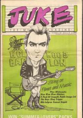 Juke Magazine - Juke 397 - Sting, Whitesnake, Bow Wow Wow, Allniters, A Flock Of Seagulls, Public Image Ltd, Boys, K