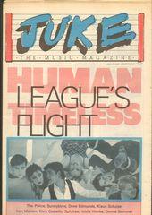 Juke Magazine - Juke 428 - Human League, Police, Sunnyboys, Dave Edmunds, Klaus Schulze, Iron Maiden, Elvis Costello