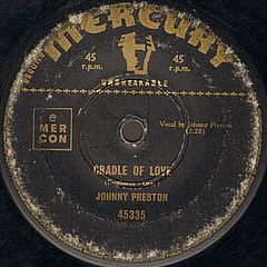 Johnny Preston - Cradle Of Love/city Of Tears