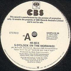 5 O'clock