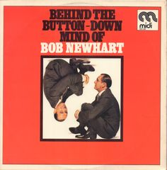 Bob Newhart Behind The Button Down Mind Of Records Lps
