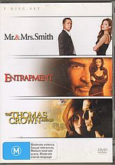 Thumbnail - MR & MRS SMITH/ENTRAPMENT/THE THOMAS CROWN AFFAIR