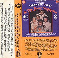 Thumbnail - VALLI,Frankie,& The Four Seasons